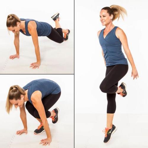 Single Leg Lift Jump exercise