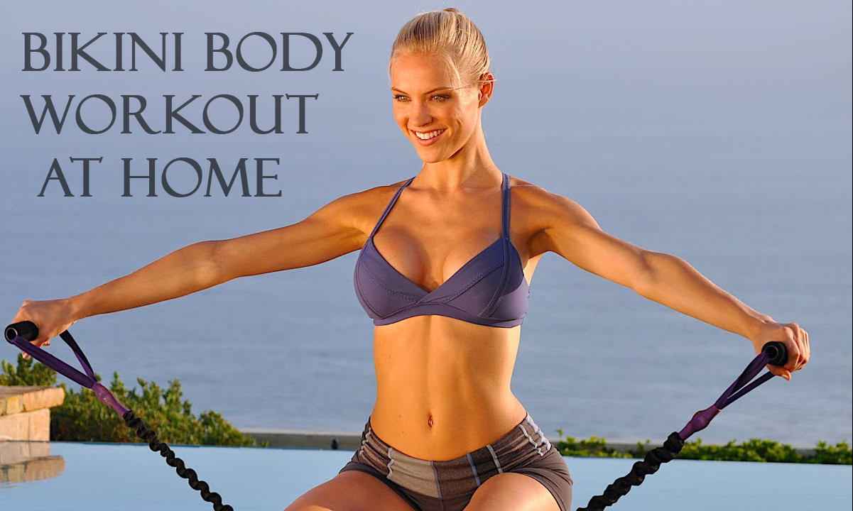 Bikini body workout at home